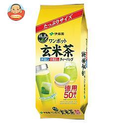 伊藤園 ワンポット 抹茶入り玄米茶 ティーバッグ 50袋入×10袋入