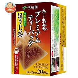 伊藤園 お~いお茶 プレミアムティーバッグ 一番茶入りほうじ茶 20袋入×8袋入
