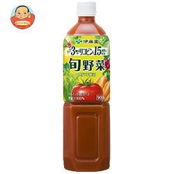 伊藤園 ぎっしり15種類の旬野菜 900gPET×12本入