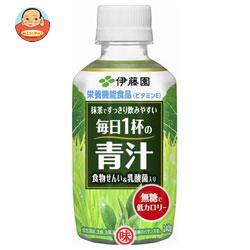 伊藤園 毎日1杯の青汁 無糖タイプ 240gペットボトル×24本入