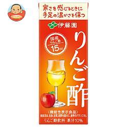 伊藤園 りんご酢【機能性表示食品】 200ml紙パック×24本入