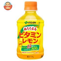 伊藤園 【HOT用】あたたまるビタミンレモン 280gペットボトル×24本入