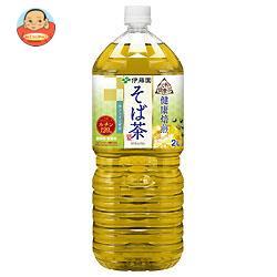 伊藤園 伝承の健康茶 健康焙煎 そば茶 2Lペットボトル×6本入