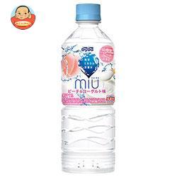 ダイドー miu ミウ ピーチ&ヨーグルト味 550mlペットボトル×24本入