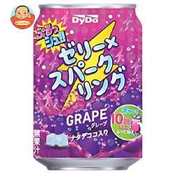 ダイドー ぷるっシュ!! ゼリー×スパークリング グレープ 280g缶×24本入