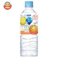 ダイドー miu ミウ レモン&オレンジ 550mlペットボトル×24本入