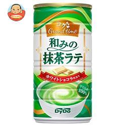 ダイドー コクGrand time(グランタイム) 和みの抹茶ラテ 185g缶×30本入