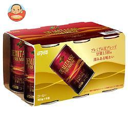 ダイドー ブレンド デミタスコーヒー(6缶パック) 150g缶×30(6×5)本入