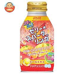 ダイドー ぷるっシュ!! ゼリー×スパークリング ピンクグレープフルーツ 270gボトル缶×24本入