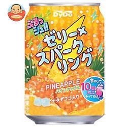 ダイドー ぷるっシュ!! ゼリー×スパークリング パインアップル 280g缶×24本入