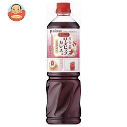 ミツカン ビネグイット りんご酢ローズヒップ&カシス(6倍濃縮タイプ) 1000mlペットボトル×8本入
