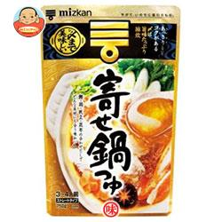 ミツカン 〆まで美味しい 寄せ鍋つゆ ストレート 750g×12袋入