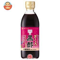 ミツカン ざくろ黒酢 【機能性表示食品】 500ml瓶×6本入