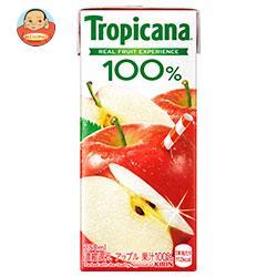 キリン トロピカーナ 100% アップル 250ml紙パック×24本入
