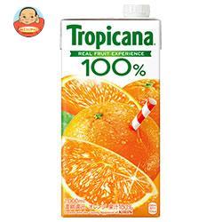 キリン トロピカーナ 100% オレンジ 1000ml紙パック×12(6×2)本入