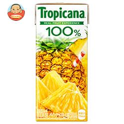キリン トロピカーナ 100% パインアップル 250ml紙パック×24本入