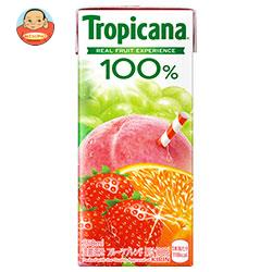 キリン トロピカーナ 100% フルーツブレンド 250ml紙パック×24本入