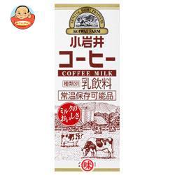小岩井乳業 小岩井 コーヒー 200ml紙パック×24本入