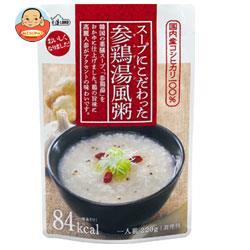 丸善食品工業 テーブルランド スープにこだわった 参鶏湯風粥 220gパウチ×24(12×2)袋入