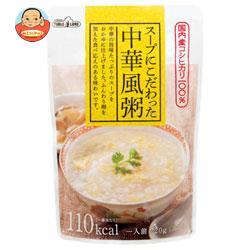 丸善食品工業 テーブルランド スープにこだわった 中華風粥 220gパウチ×24(12×2)袋入