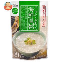 丸善食品工業 テーブルランド スープにこだわった 海鮮風粥 220gパウチ×24(12×2)袋入