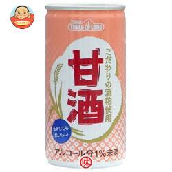 丸善食品工業 テーブルランド 甘酒 190g缶×30本入