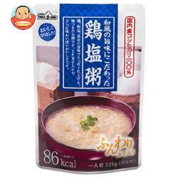 丸善食品工業 テーブルランド 和風の旨味にこだわった鶏塩粥 220gパウチ×24(12×2)袋入