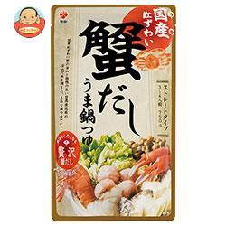 盛田 国産紅ずわい蟹だし うま鍋つゆ 750gパウチ×12袋入