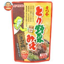 マルサンアイ まつや とり野菜みそ ごまみそ鍋スープ 720g×8袋入