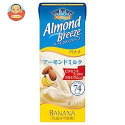 ブルーダイヤモンド アーモンド・ブリーズ バナナ 200ml紙パック×24本入