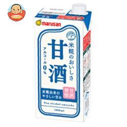マルサンアイ 甘酒 1000ml紙パック×12(6×2)本入