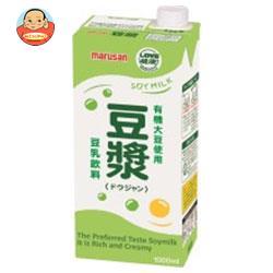 マルサンアイ 豆乳飲料 豆ジャン 1000ml紙パック×12(6×2)本入