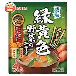マルサンアイ 緑黄色野菜のみそ汁 4食入×40(10×4)袋入