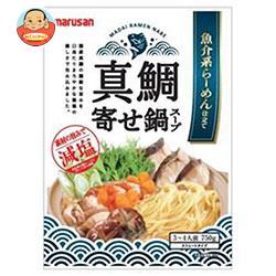 マルサンアイ 魚介系らーめん仕立て 真鯛寄せ鍋スープ 750g×10袋入