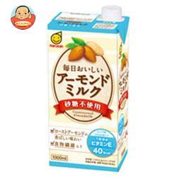 マルサンアイ アーモンドミルク 砂糖不使用 1000ml紙パック×12(6×2)本入