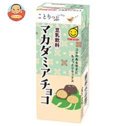 マルサンアイ ことりっぷ 豆乳飲料 マカダミアチョコ 200ml紙パック×24(12×2)本入