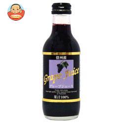 アルプス KKアルプス 信州産 グレープジュース 200ml瓶×24本入