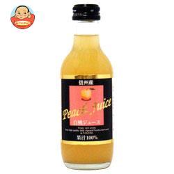 アルプス KKアルプス 信州産 白桃ジュース 200ml瓶×24本入