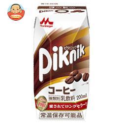 森永乳業 ピクニック コーヒー(プリズマ容器) 200ml紙パック×24本入