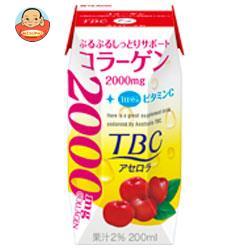 森永乳業 TBC コラーゲン アセロラ(プリズマ容器) 200ml紙パック×24本入
