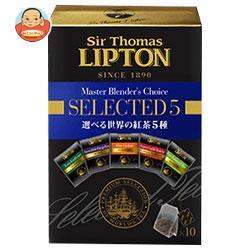 リプトン サー・トーマス・リプトン 5種アソートメントティーバッグ 10袋×6個入