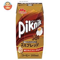 森永乳業 ピクニック エスプレッソ (プリズマ容器) 200ml紙パック×24本入