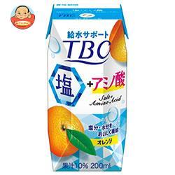 森永乳業 TBC 塩+アミノ酸(プリズマ容器) 200ml紙パック×24本入