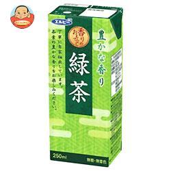 エルビー 緑茶 250ml紙パック×24本入