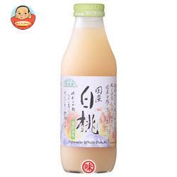 マルカイ 順造選 国産白桃 500ml瓶×12本入