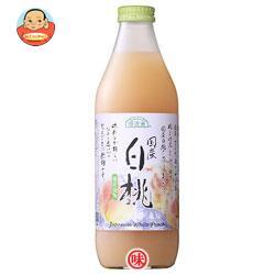 マルカイ 順造選 国産白桃 1000ml瓶×12(6×2)本入