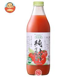 マルカイ 順造選 純トマトジュース 食塩無添加 1000ml瓶×12(6×2)本入
