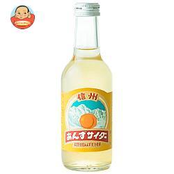友桝飲料 信州杏サイダー 245ml瓶×24本入