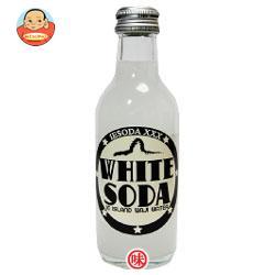 友桝飲料 ホワイトソーダ 200ml瓶×24本入