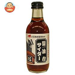 友桝飲料 醤油サイダー 200ml瓶×24本入